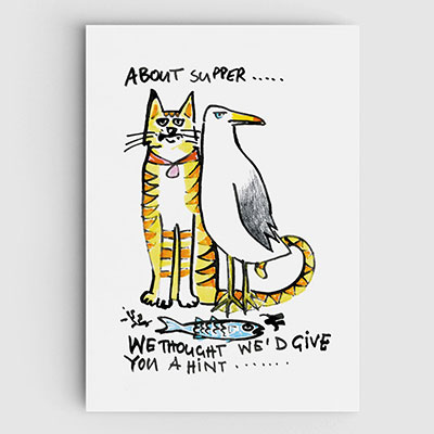 Cards The Cat Sends You CCSY104